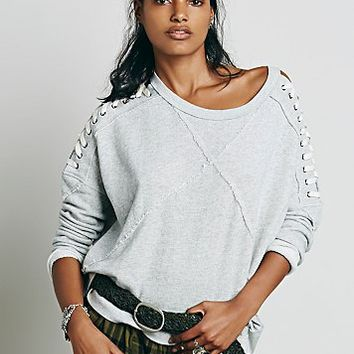 Free People Womens Heisman Pullover