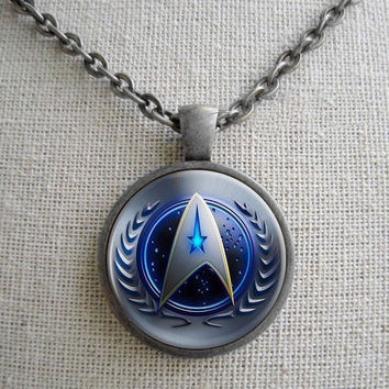 Star Trek Necklace Pendant