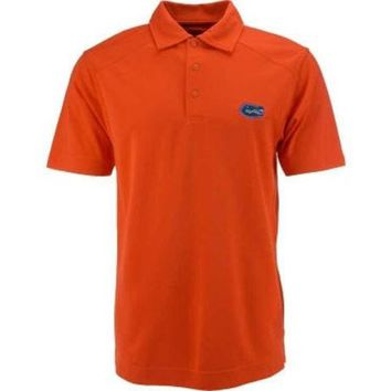 DCCKG8Q NCAA Florida Gators Orange C&B Drytec Polo