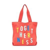 Togetherness Big Canvas Tote