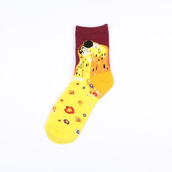 The Kiss (Klimt) Sock | Short