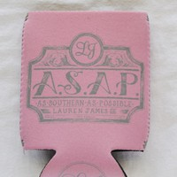 As Southern As Possible Can Holder in Pink by Lauren James - FINAL SALE