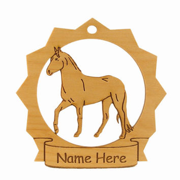 Paso Fino Horse Wood Ornament 088213 Personalized With Your Horse's Name