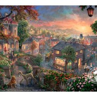 Disney Dreams Art - Lady and the Tramp 24x36 R/E