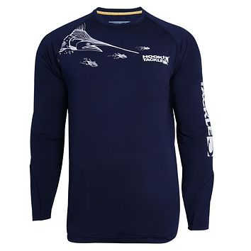 Men's Marlin Chase Vented L/S UV Fishing Shirt
