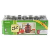 Ball® Set of 12 1 Pint 16 oz. Regular Mouth Canning Jars : Target