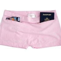 Clever Travel Companion Women's Underwear with Secret Pocket (Cotton)