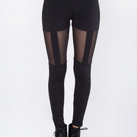 Criminal Suspender Leggings