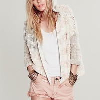 Free People Womens Star Spangled Hoodie - Americana