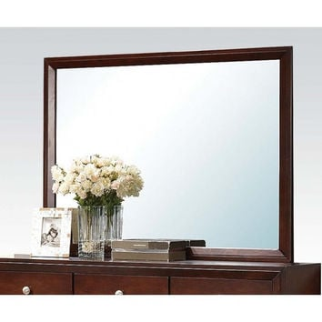 Ilana Brown Cherry Mirror 20404