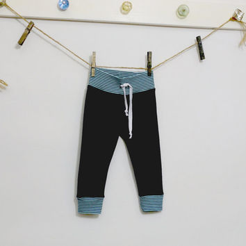 Baby Boy Pants - Organic  Leggings - Baby Boy Bottoms - Gender Neutral Baby Clothes - Baby Boy Leggings - Baby Gifts - Organic Baby Clothes
