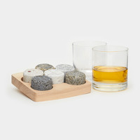 Whiskey Stones + Glasses