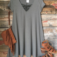 Playing for Keeps Dress: Olive