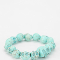 Urban Outfitters - Skull Stretch Bracelet