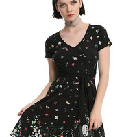 Her Universe Studio Ghibli Spirited Away Confetti Wrap Dress