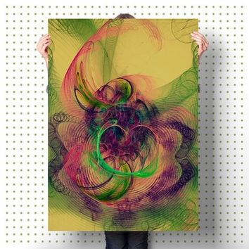 Printable Wall Art Nebulae Flame Art Abstract Artwork Modern Art Print Unique Home Decor Contemporary Art