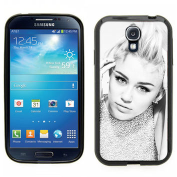 Miley Cyrus black and white. Glamorous - Black Rubber Silicone Case for Samsung Galaxy S3 S4 S5 S6 edge Note2 Note 3 Note 4  - Fast shipping