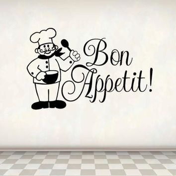 Bon Appetit Love Kitchen Quotes