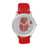 Cute lovebirds valentine day gift watch