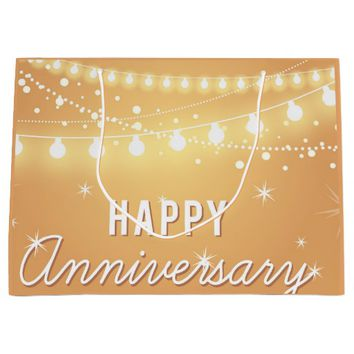 Happy Anniversary Large Gift Bag