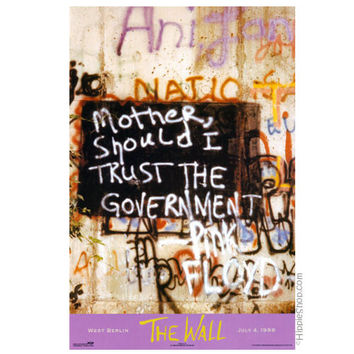 Pink Floyd - Mother Poster on Sale for $6.99 at HippieShop.com