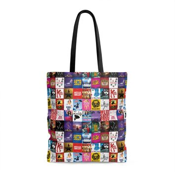Broadway Show Art Tote Bag