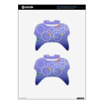 Bubbles n Butterflies Xbox 360 Controller Decal
