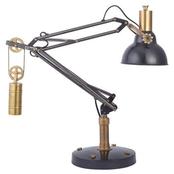 Manchester Table Lamp - Black