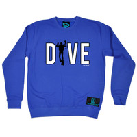 Open Water Dive Scuba Man Scuba Diving Sweatshirt