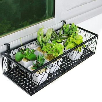 Varanda Dekarosyon Iron Decorer Mensole Per Fiori Outdoor Decor Balcony Decoration Flower Shelf Stand Balkon Balcon Plant Rack
