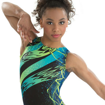 Aqua Raven Cirque du Soleil Leotard from GK Elite