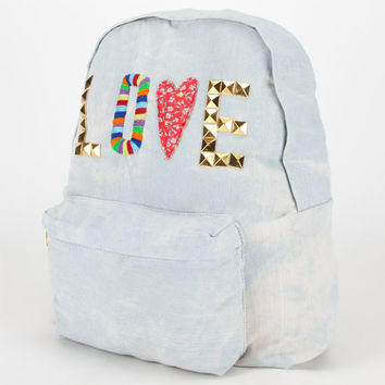 Love Backpack Denim One Size For Women 20766480001