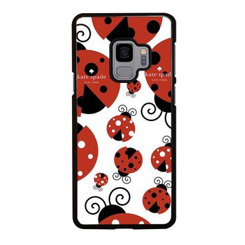 KATE SPADE LADYBUG 3 Samsung Galaxy S3 S4 S5 S6 S7 S8 S9 Edge Plus Note 3 4 5 8 Case