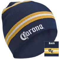 Corona - Logo Stripped Knit Hat
