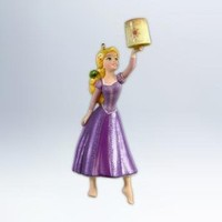 Hallmark 2012 Keepsake Ornaments QXD1614 It's All About the Hair ~ Disney's Tangled