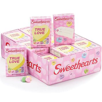 Sweetheart Conversation Hearts Candy For Valentine's Day