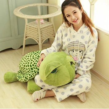 35 cm Cute sell Meng Turtle Plush play toy Gifts Soft Animal Doll toys for children
