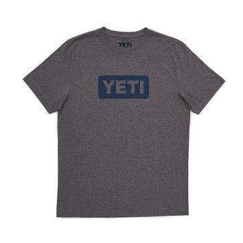 Badge Logo T-Shirt in Gray by YETI