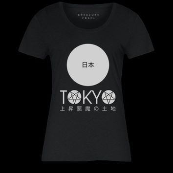 LAND OF THE RISING DEVIL TOKYO | WOMENS TEE