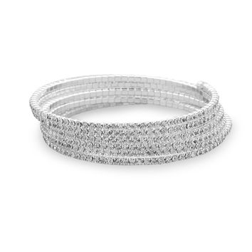 Crystal Fashion Memory Bracelet