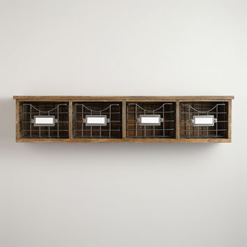 Owen Wood Wire Wall Unit - World Market