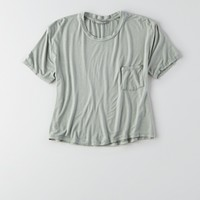 DON'T ASK WHY BOXY POCKET T-SHIRT