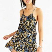 For Love & Lemons And UO Watercolor Floral Dress