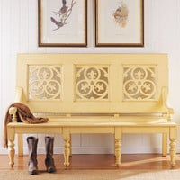 PoshLiving - Sullivan's Island Bench in Choice of Color