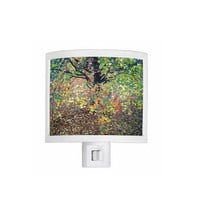 Night Light - Fall Foliage, Leaves, kitchen, newlyweds, new home, bathroom, bedroom, gift idea - Made To Order - COA#02