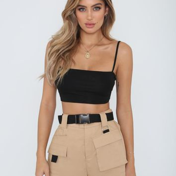 Buy Our Harper Short in Tan Online Today! - Tiger Mist