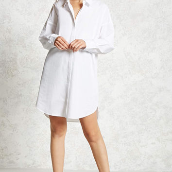 Boxy Shirt Dress
