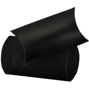 6 Black Chalkboard Pillow Boxes 3 1/4 x 1 x 5 1/4 Inches: Lucky Dip