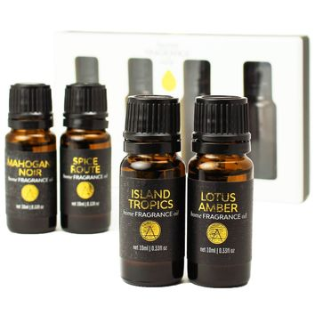 Exotic Scented Home Diffuser Fragrance Oils Gift Set