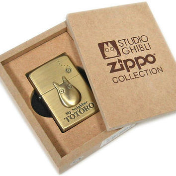 STUDIO GHIBLI COLLECTION - My Neighbor TOTORO ZIPPO